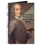 French Philosopher: Voltaire Journal