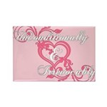 Twilight Irrevocably Valentine Rectangle Magnet (1