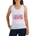 Edward Twilight Valentine Women's Tank Top