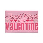 Jacob Twilight Valentine Rectangle Magnet (10 pack