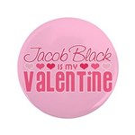 "Jacob Twilight Valentine 3.5"" Button"