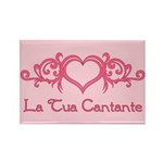 La Tua Cantante Rectangle Magnet (10 pack)