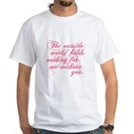 Twilight Valentine White T-Shirt