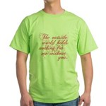 Twilight Valentine Green T-Shirt