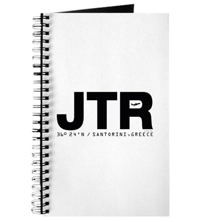 Santorini Airport Greece JTR Black Des. Journal