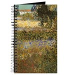 Van Gogh Flowering Garden Journal