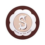 "Market Sister of the Bride 3.5"" Button (100 pack)"