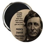 Henry David Thoreau Magnet
