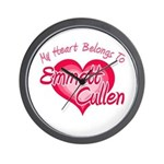 Emmett Cullen Heart Wall Clock