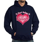 Heart Belongs Twilight Hoodie (dark)