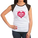 Heart Belongs Twilight Women's Cap Sleeve T-Shirt