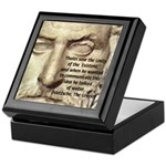 Greek Philosophy: Thales Keepsake Box