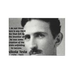 Nikola Tesla Rectangle Magnet (100 pack)