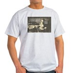 Rationalist Baruch Spinoza Ash Grey T-Shirt