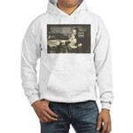 Rationalist Baruch Spinoza Hooded Sweatshirt