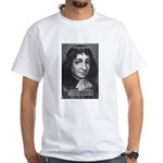 Philosopher Baruch Spinoza White T-Shirt