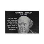 Herbert Spencer Rectangle Magnet (100 pack)