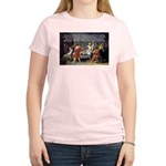 Truth and Wisdom: Socrates Women's Pink T-Shirt