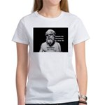 Socrates: Wisdom from Leisure Women's T-Shirt