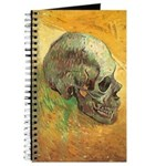 Van Gogh Skull Journal