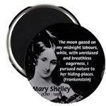 "Mary Shelley Frankenstein 2.25"" Magnet (100 pack)"