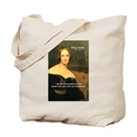 Novelist Mary Shelley Tote Bag