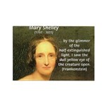 Writer Mary Shelley Rectangle Magnet (10 pack)