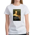 Writer Mary Shelley Women's T-Shirt