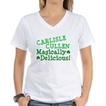 Carlisle Magically Delicious Women's V-Neck T-Shir