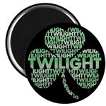 "Twilight Shamrock 2.25"" Magnet (100 pack)"