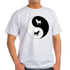 Yin Yang Chihuahua Light T-Shirt
