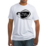 Manly Pharmacy Tech Fitted T-Shirt