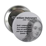 "Shakespeare: Beauty of Juliet 2.25"" Button (100 pa"