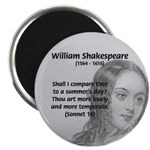 "Shakespeare: Beauty of Juliet 2.25"" Magnet (100 pa"