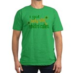 I Got Lucky with Edward Culle Men's Fitted T-Shirt