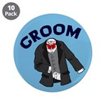 Groom Button (10 pack)