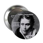 "Arthur Schopenhauer Truth 2.25"" Button (100 pack)"