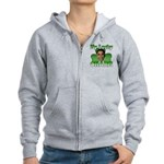 Obama My Lucky Charm Women's Zip Hoodie