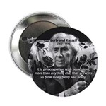 "Bertrand Russell Philosophy 2.25"" Button (10 pack)"