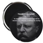 "President Theodore Roosevelt 2.25"" Magnet (100 pac"