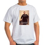 Theodore Roosevelt Ash Grey T-Shirt