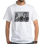 2nd World War: Stalin Roosevelt Churchill White T-