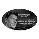 President Ronald Reagan Oval Sticker