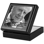 Philosophy Karl Popper Keepsake Box