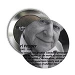 Open Society: Karl Popper Button