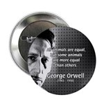 "Animal Farm: George Orwell 2.25"" Button (100 pack)"