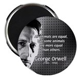 "Animal Farm: George Orwell 2.25"" Magnet (100 pack)"