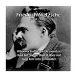 Christian Morality / Nietzsche Tile Coaster