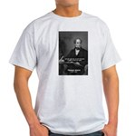 Irish Poet: Thomas Moore Ash Grey T-Shirt