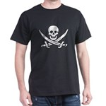 Mardi Gras Pirate Black T-Shirt